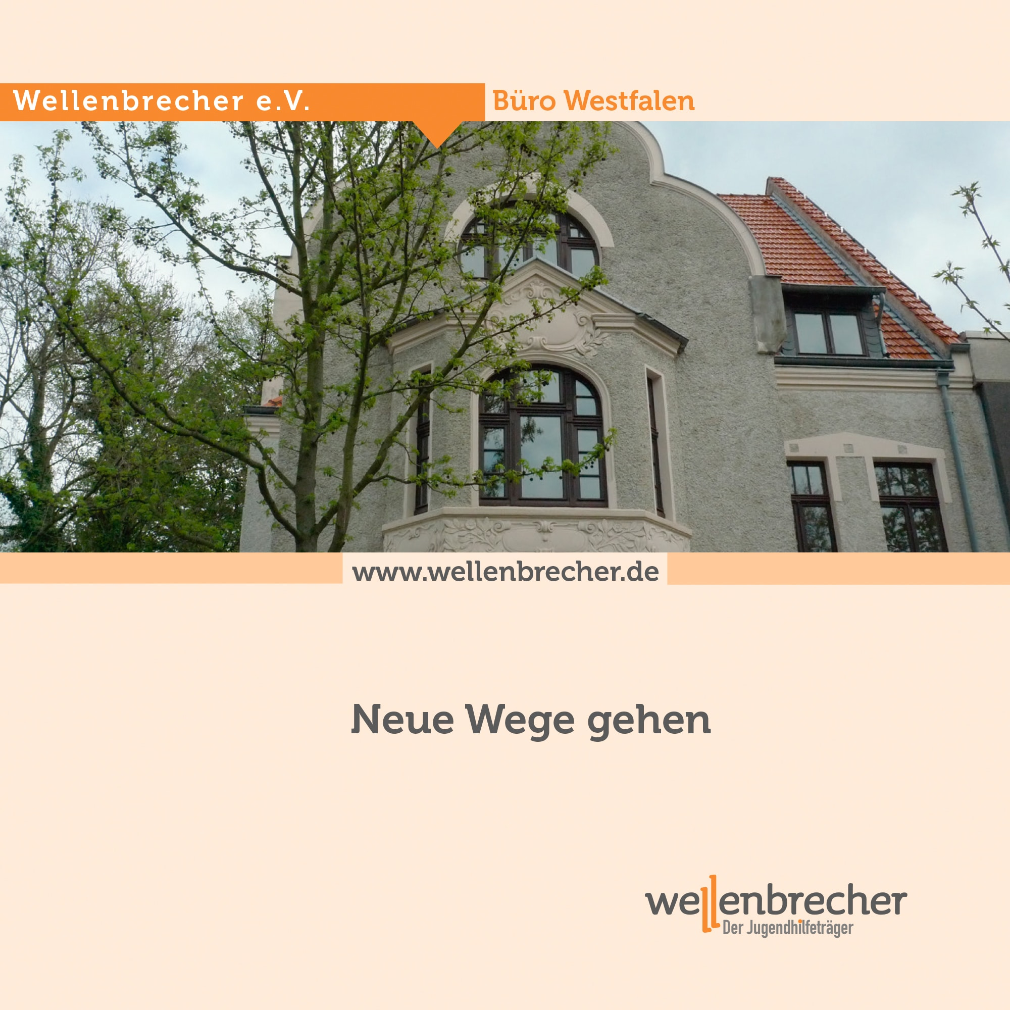 Flyer Büro Westfalen