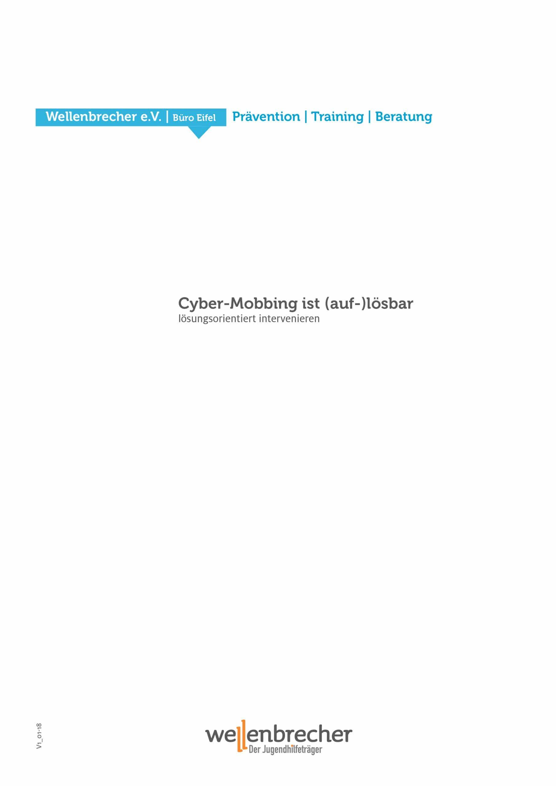 Fortbildung Cyber-Mobbing