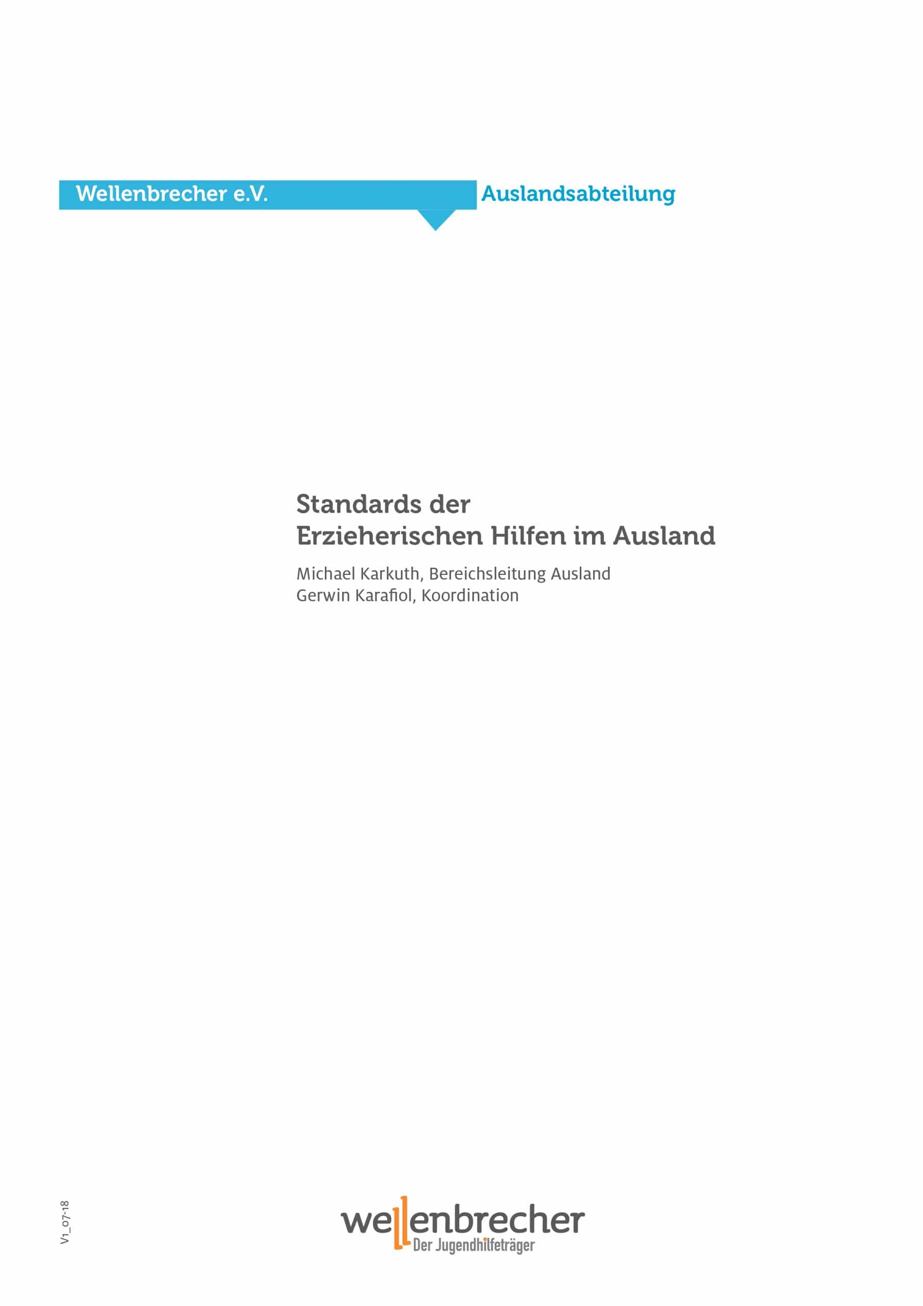 Download Qualitätsstandards in Auslandsprojekten