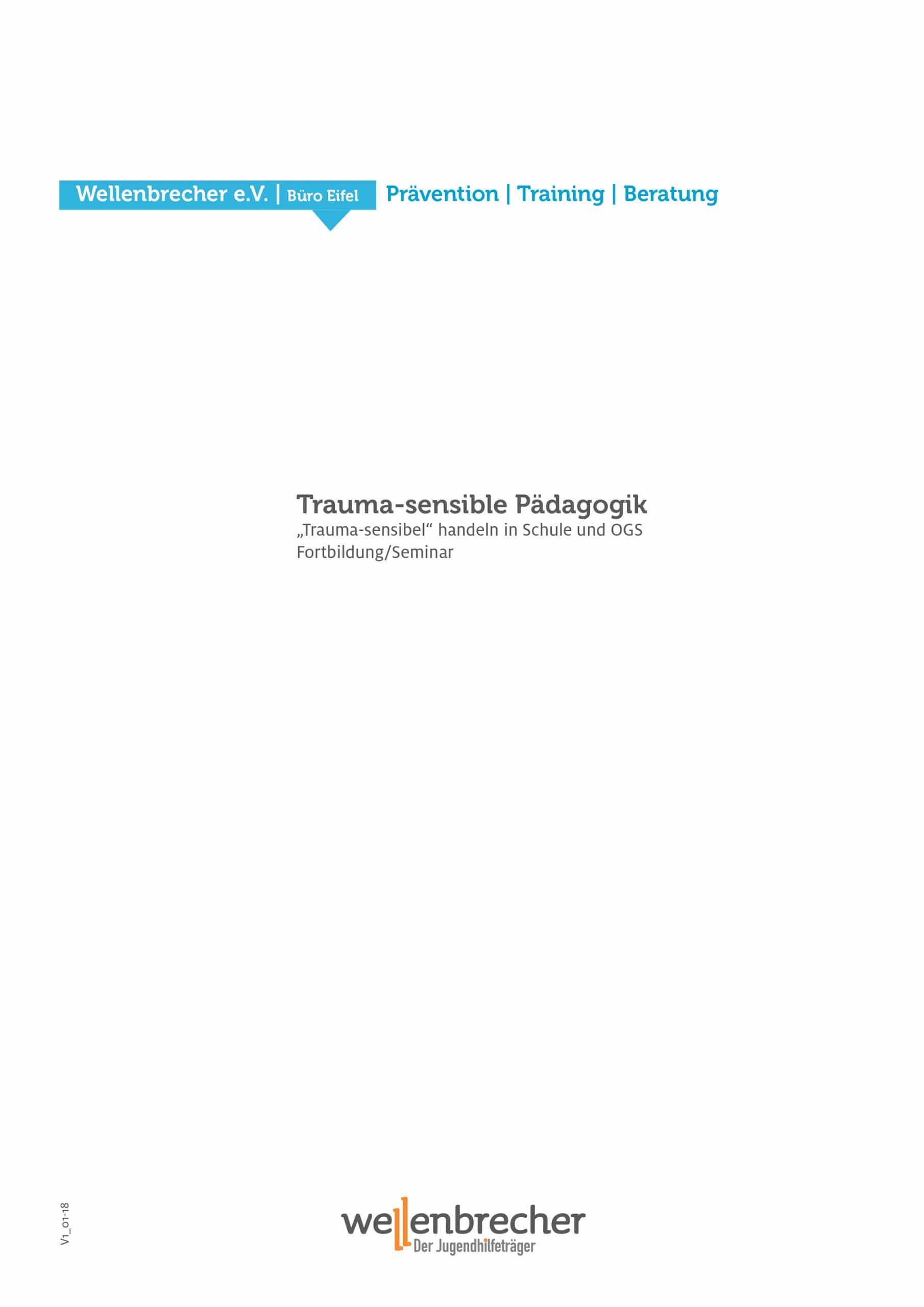 Fortbildung Trauma-sensible Pädagogik