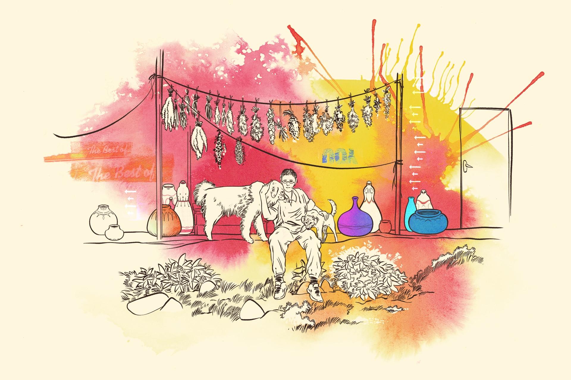 Illustration: Erziehungshilfen im Ausland