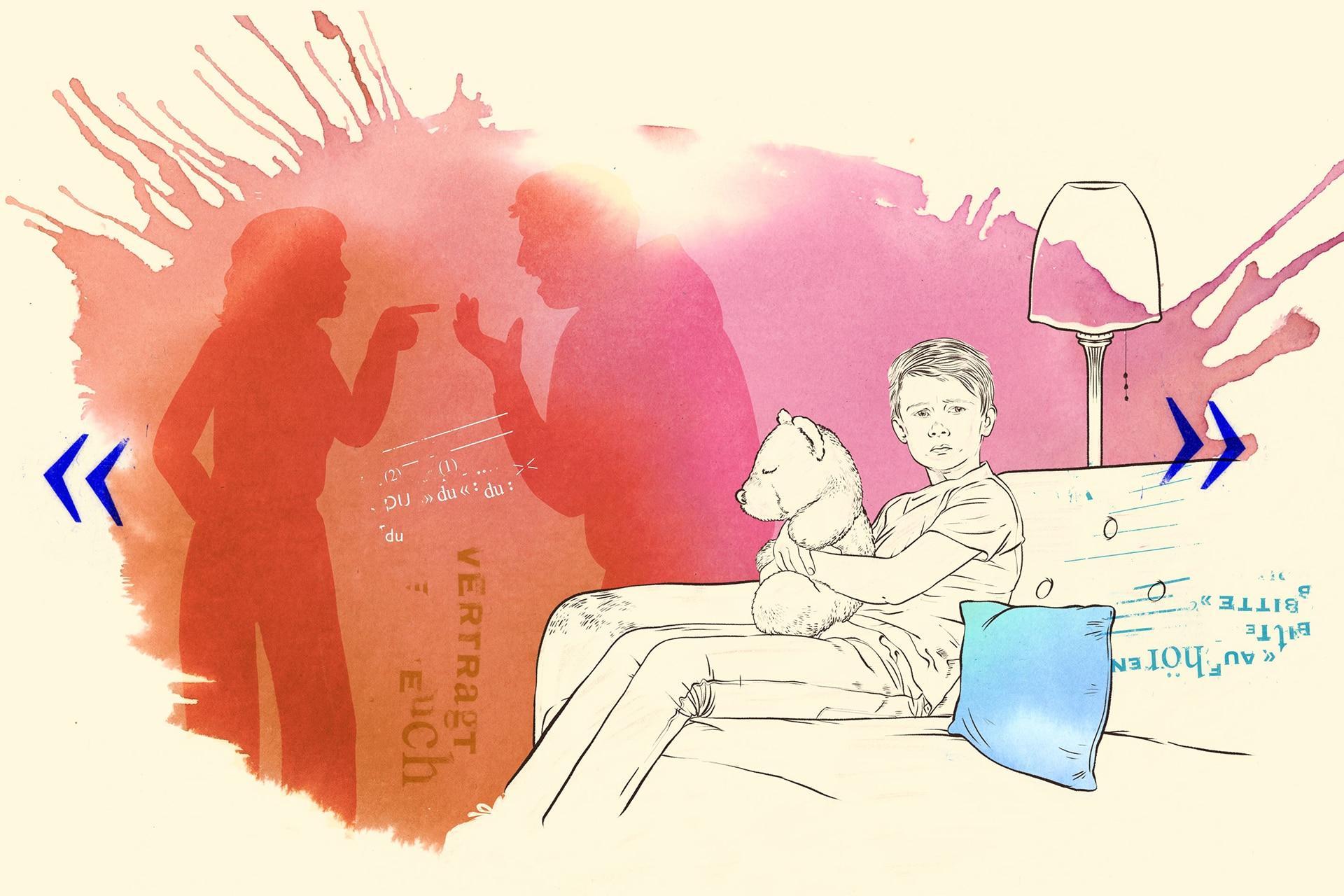 Illustration: Betreuungen für Kinder und Jugendliche in Krisen