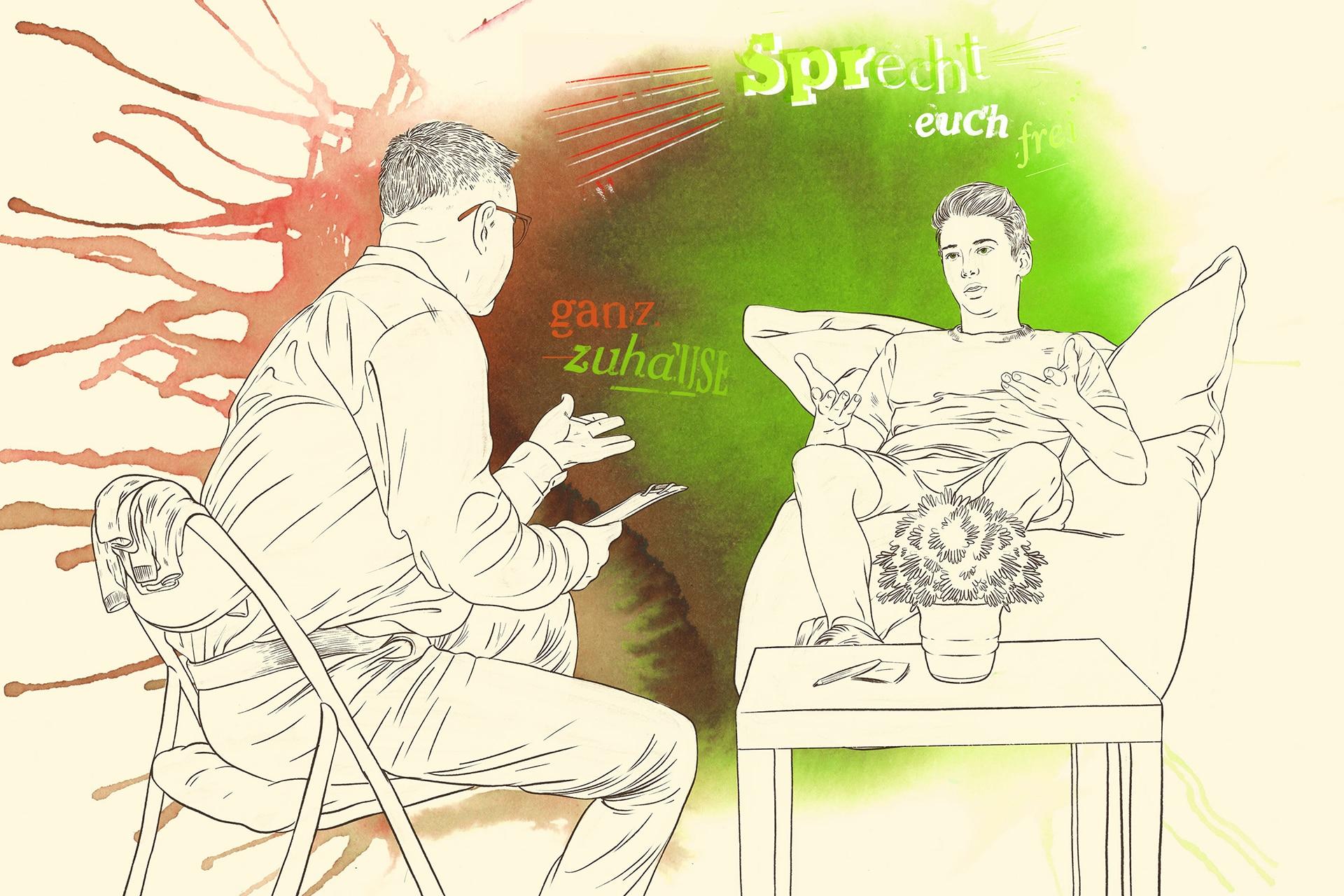 Illustration: Diagnostik und Therapie