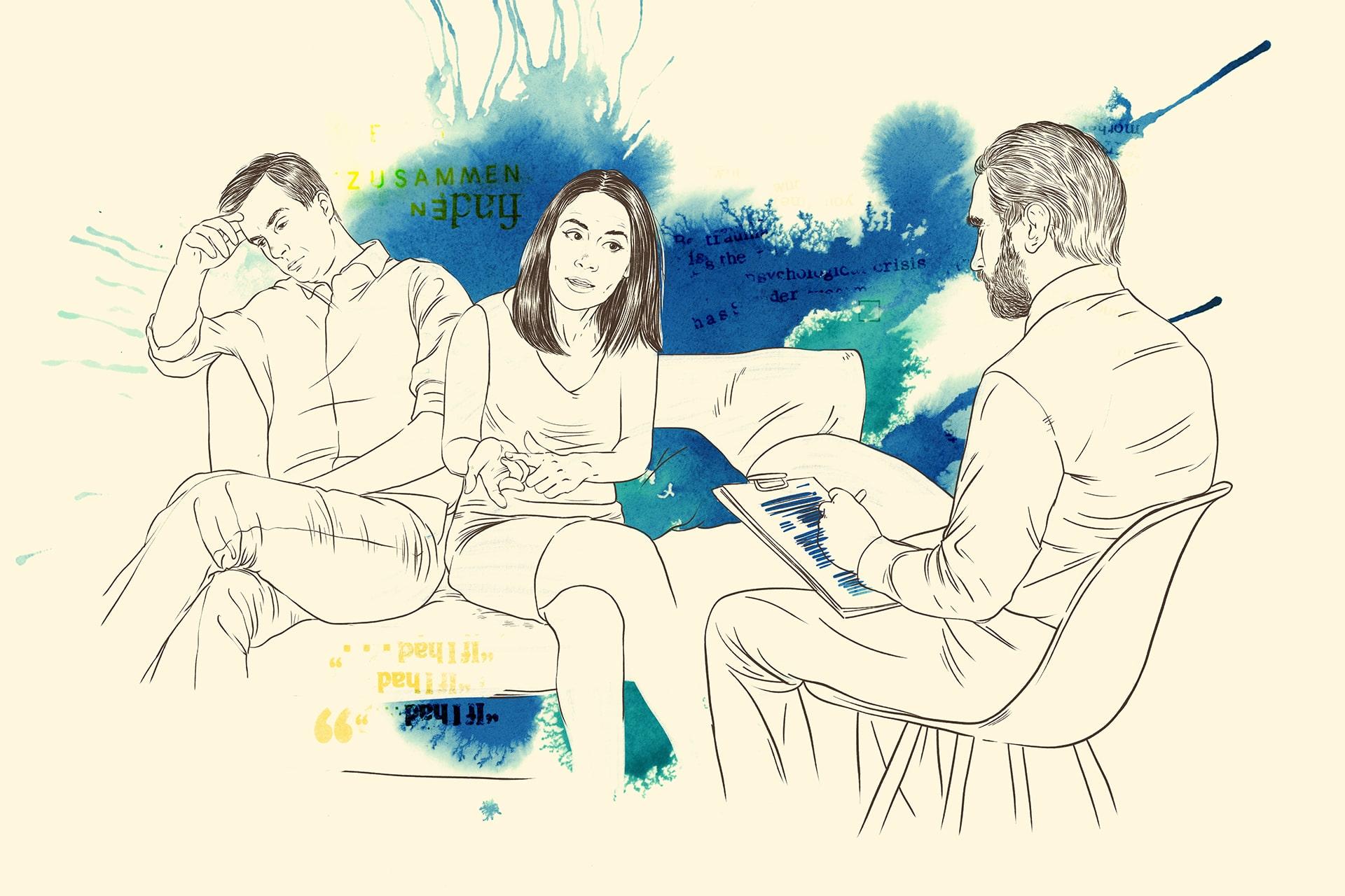 Illustration: Intensive pädagogisch-therapeutische Familienbegleitung