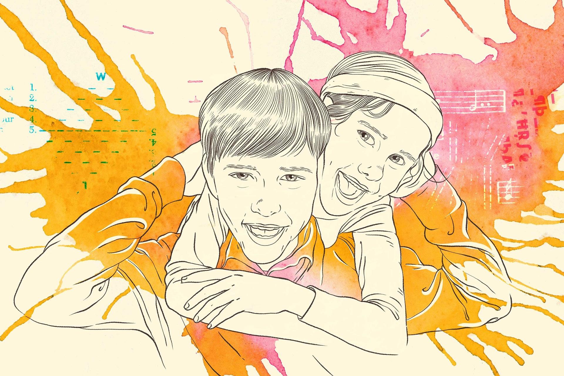 Illustration: Erziehungsbeistandschaften