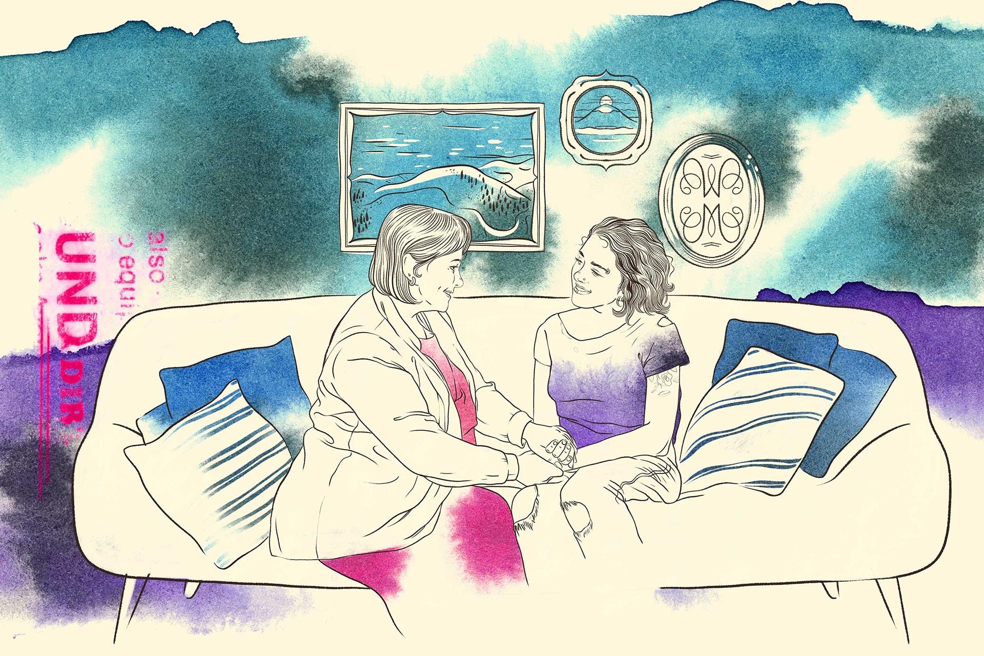 Illustration: Intensive Sozialpädagogische Einzelbetreuung