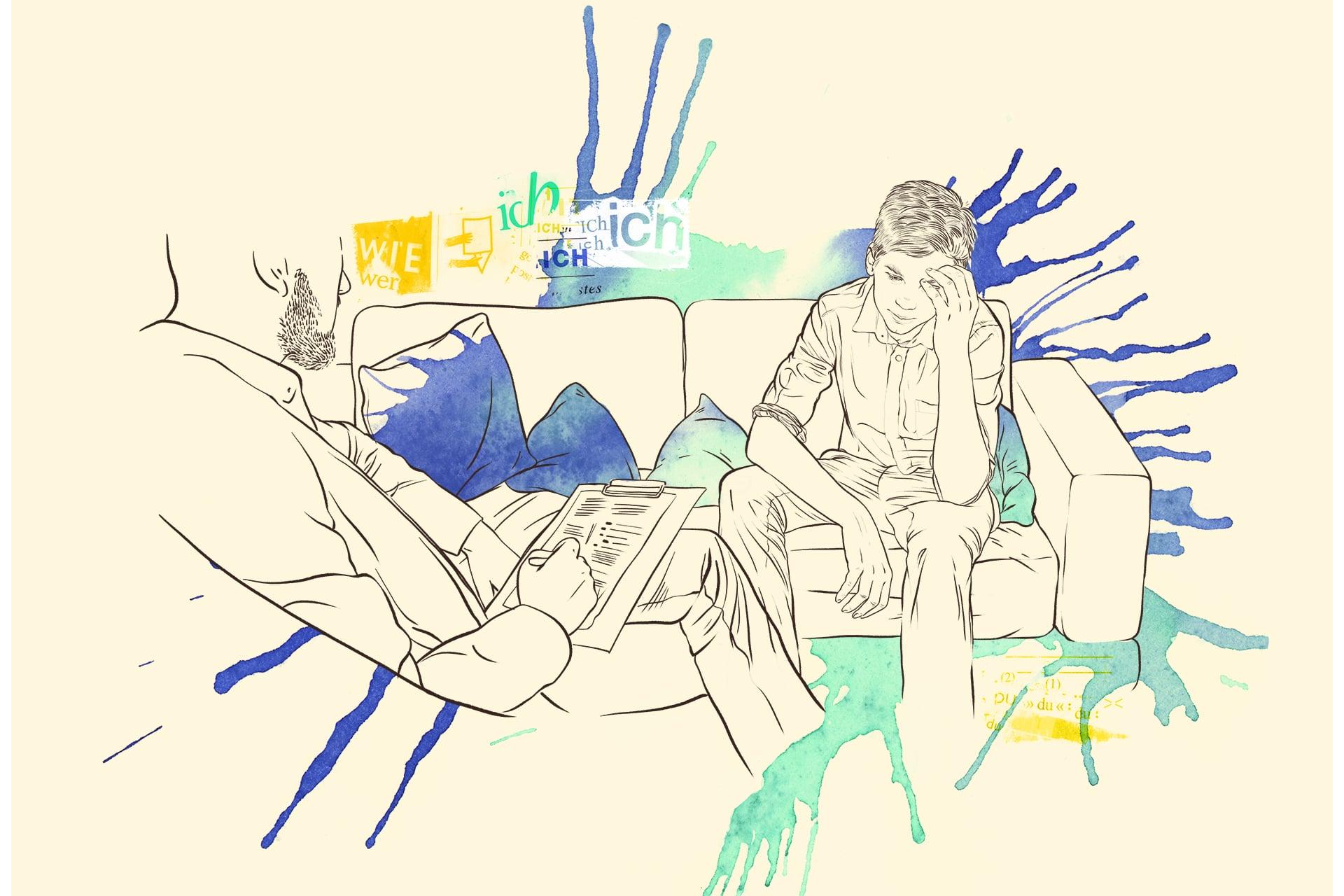 Illustration: Ambulante intensive sozialpädagogische Einzelbetreuung