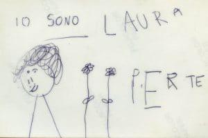 Kinderzeichnung Io Bono Laura