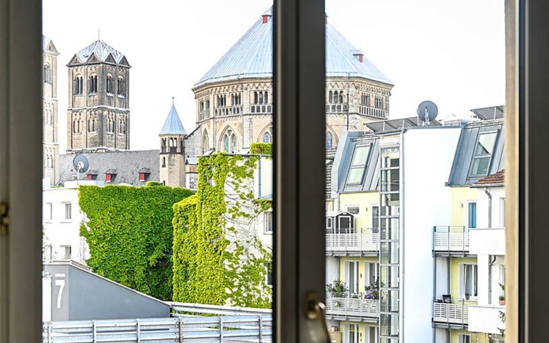 Neues Wellenbrecher-Büro in Köln