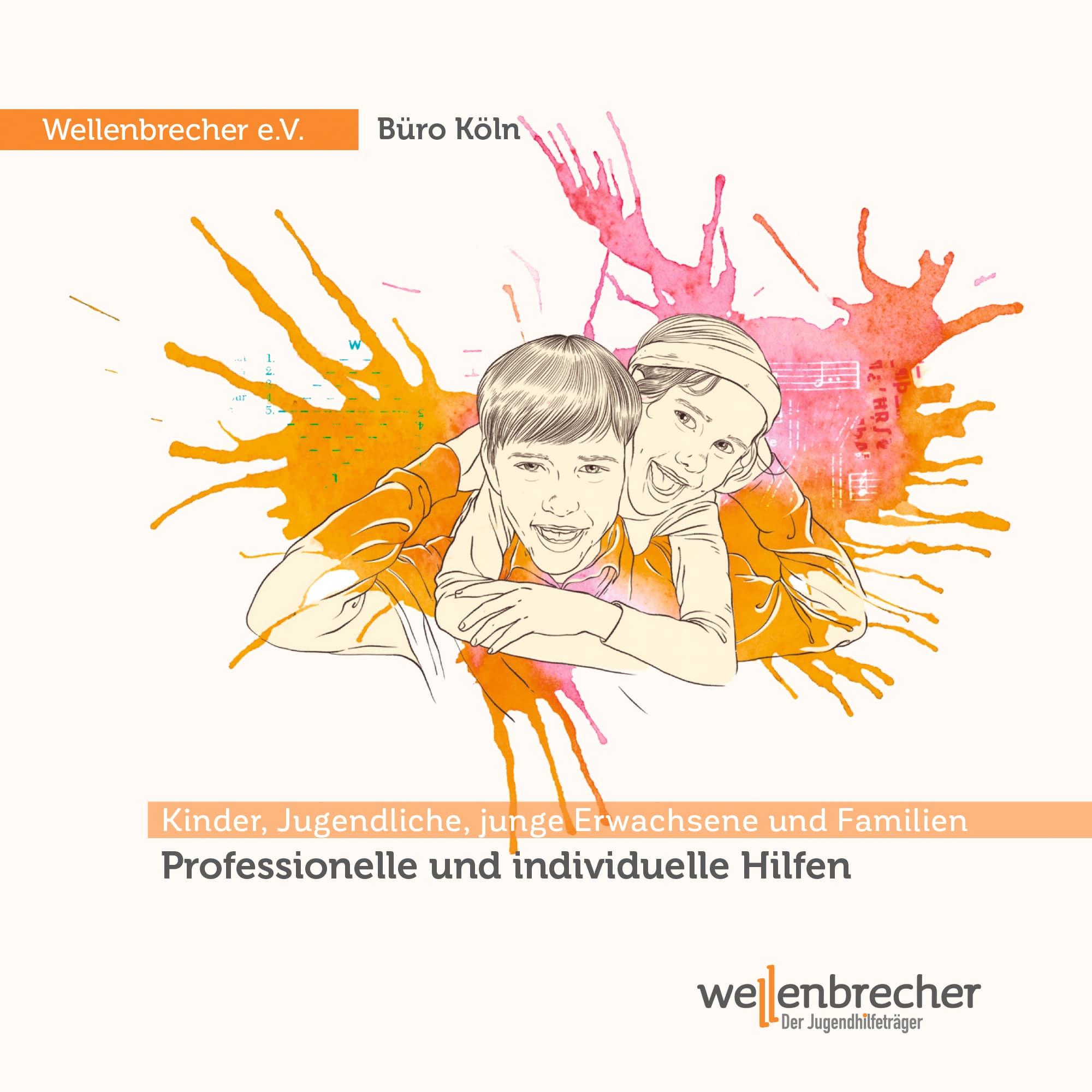 Titelseite Flyer Büro Köln