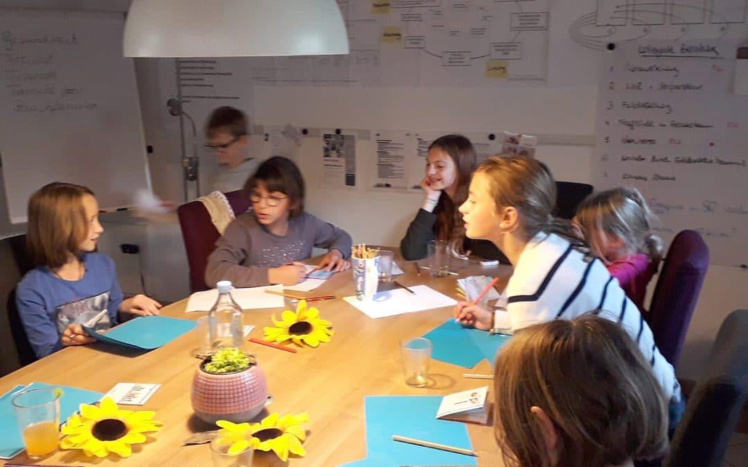 Partizipationsworkshop mit 6-12-jährigen betreuten Kindern